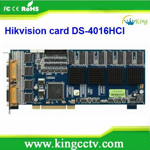 DVR Card 16CH Capture Video Card DS-4016HCI