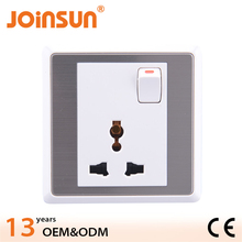 Universal socket with switch eu table socket
