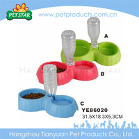 High quality dog feeding novelty silicone dog bowl