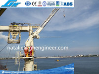 2.5T22M Hydraulic Folding Telescopic crane