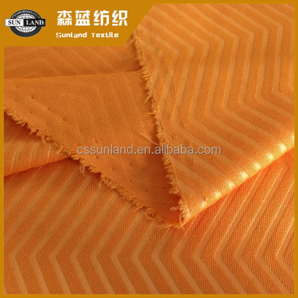 100% polyester embossed double-sided cloth knitted plain fabric
