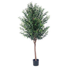 free samples wholesale plastic artificial olive plants trees factory for home decoration
