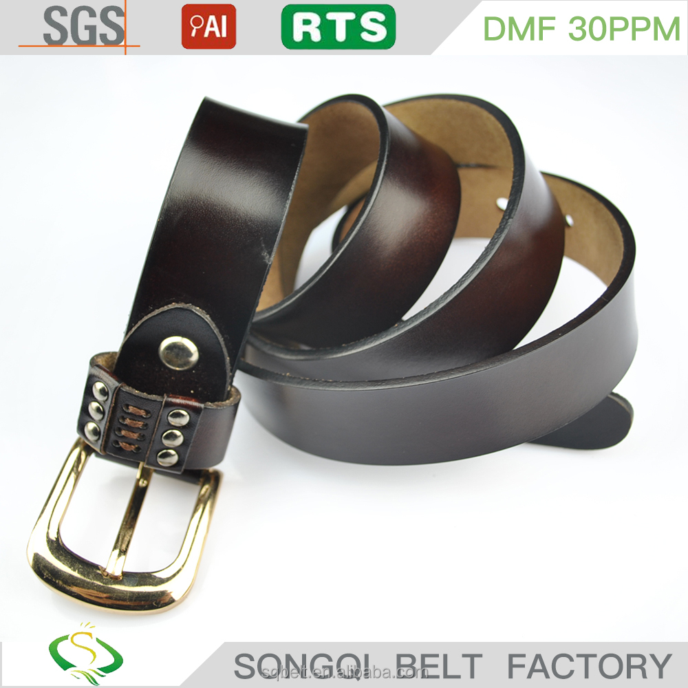 high quality new coming leather belts for men