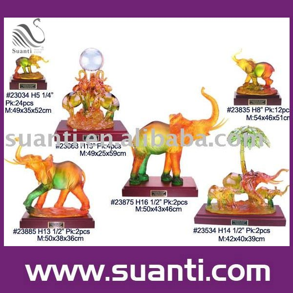 Polyresin elephant decoration.crafts and sculpture