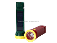 LED Hand Torch Outdoor Flashlight,Solar Camping Light Torch