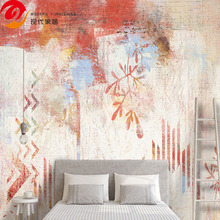 Chinese Classic/Modern embossed Customized 3d bedroom wallpaper