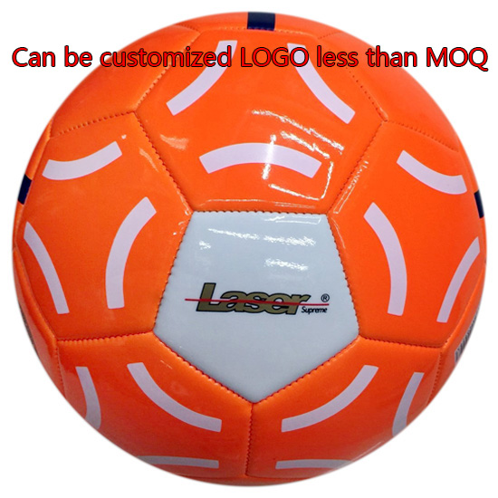 Foam PVC soccer ball made by machine football customized logo size 5 football ball