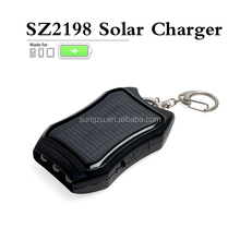 2017 Gift Cheap Products Keychain Design LED Flashlight Solar Charger