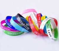2017 Fashion Cheap Custom Silicone Bracelet