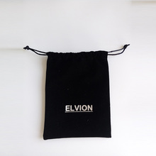 Wholesale/ Custom samll or large long narrow drawstring velvet pouch
