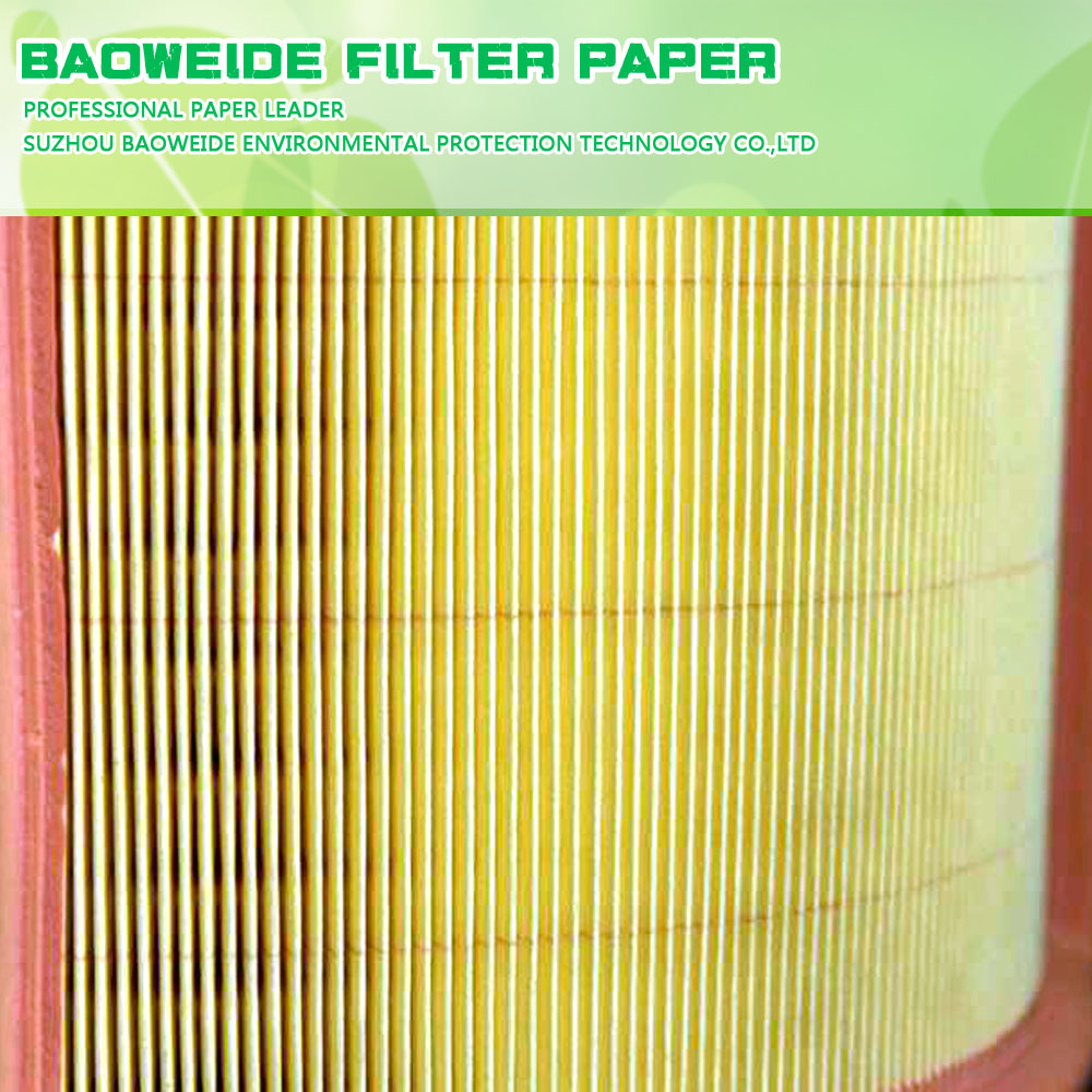 New design 190gsm automobile oil filter paper high air permeability
