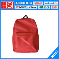 2016 new design polyester school bag models for students