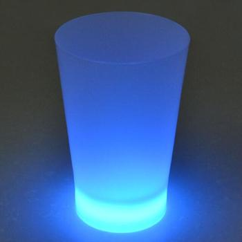 Glowing Wine Glass/ pressing active the 12oz glow cup