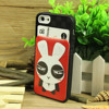2014 New arrival cartoon pattern style for iphone cell phone case card holder
