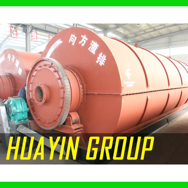 Waste Material Project to Fuel Oil Huayin Pyrolysis Technology