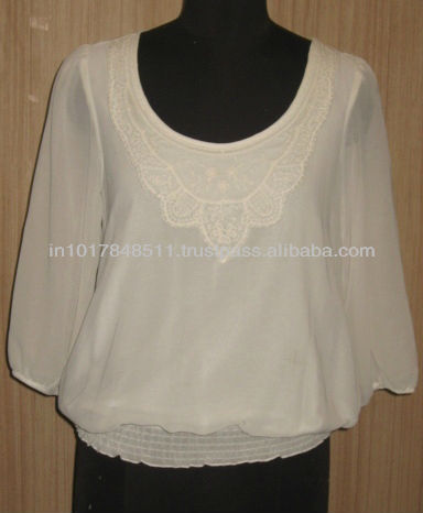 Trendy Blouse Design 2013