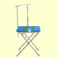 Stainless steel Foldable dog grooming table MSLVT10