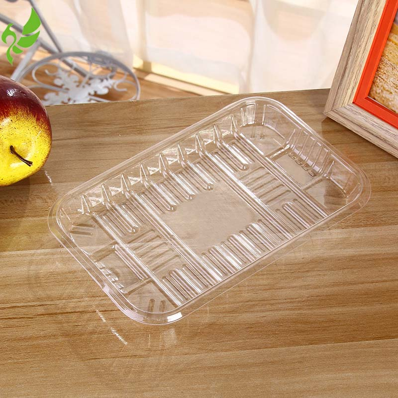 400g Grape Disposable PET Fresh Fruit Blister Packing Tray Without Lid