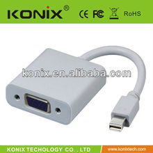 Hot sell rca to mini displayport cable from konix