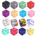 Magic Fidget Cube Hand Spinners metal cube Finger Hand Toy