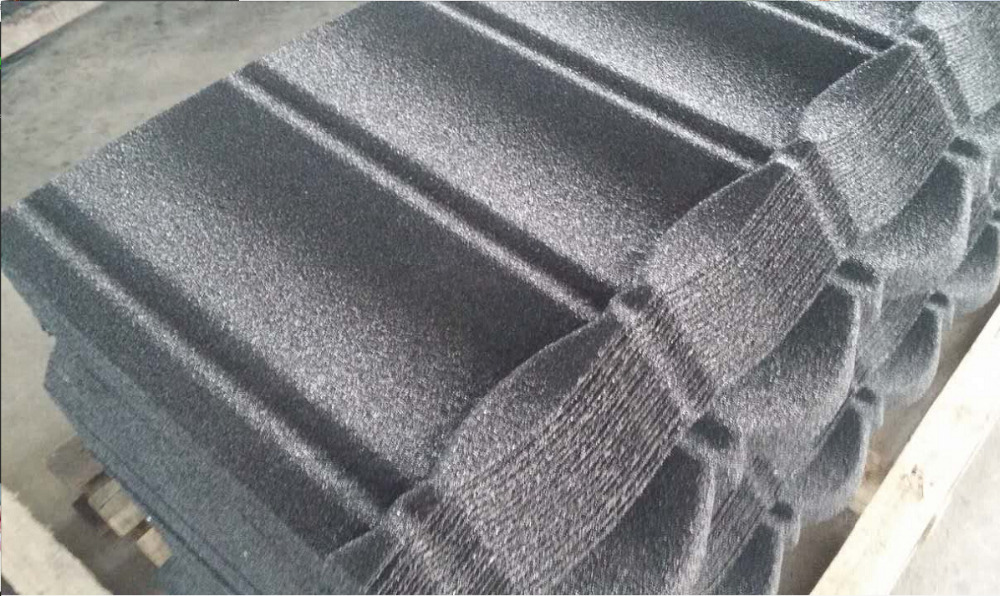 the most popular stone coated metal roofing tile for foreign friends