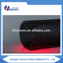 Hot selling machine biaxial plastic geogrid for soil retainer hospital