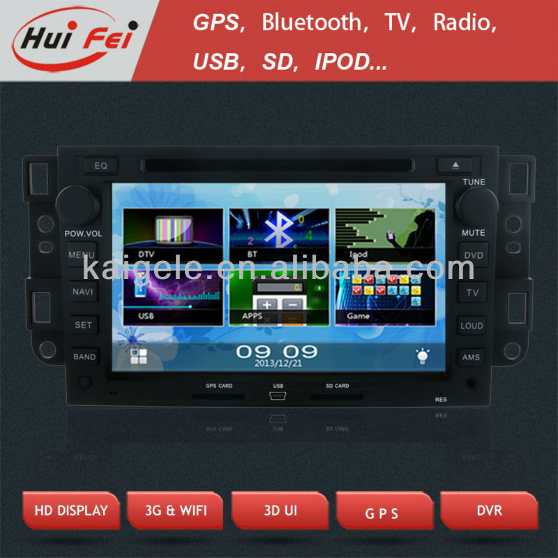 HuiFei Car Radio with BT PIP 3D UI for Chevrolet Epica Captiva Tosca