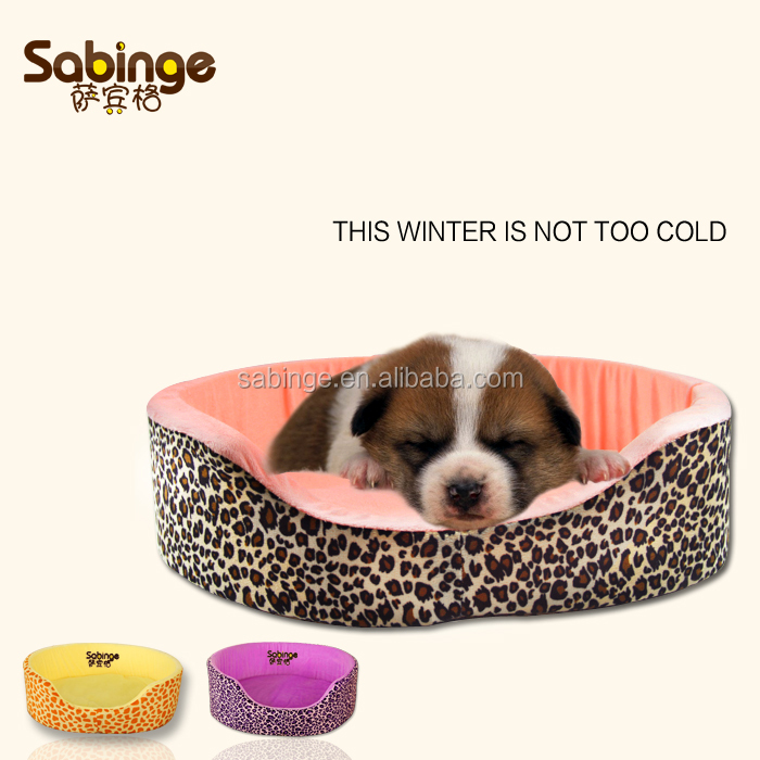 High quality easy clean textile fabric pet bedding made in china/pet bed