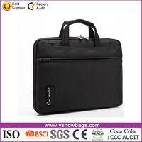 Popular styles waterproof unisex laptop bag messenger different colors nylon business briefcase laptop bag