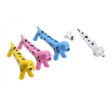 Novelty Promotion Dot Cartoon Dog Plastic Ball point Pen for gifts