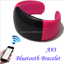 Bluetooth Wrist smart bracelet watch OLED time display caller ID display anti-lost microphone vibration for cell phones