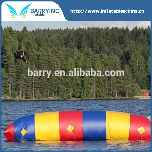 Customized size inflatable water catapult blob for sale