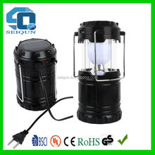 rechargeable led solar camping lantern / solar lantern , tent rechargeabe led solar camping light , solar camping led lantern