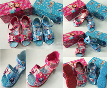 TF-03150729006 2015 hot sell Lovely Frozen Children 's Shoes Girls Kids Sandals For Baby Summer 4-6years