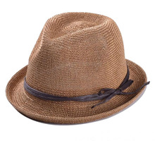 Wholesale different models adult round felt top hats with wax rope