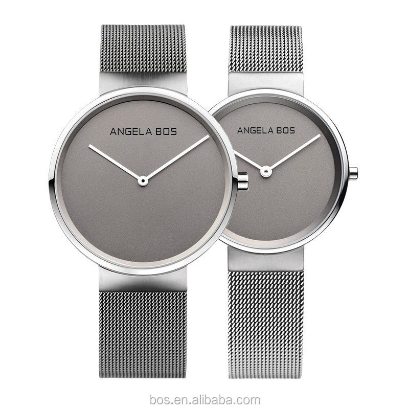 Most extraordinary designing timepiece germany design brand stainless steel vogue men watch