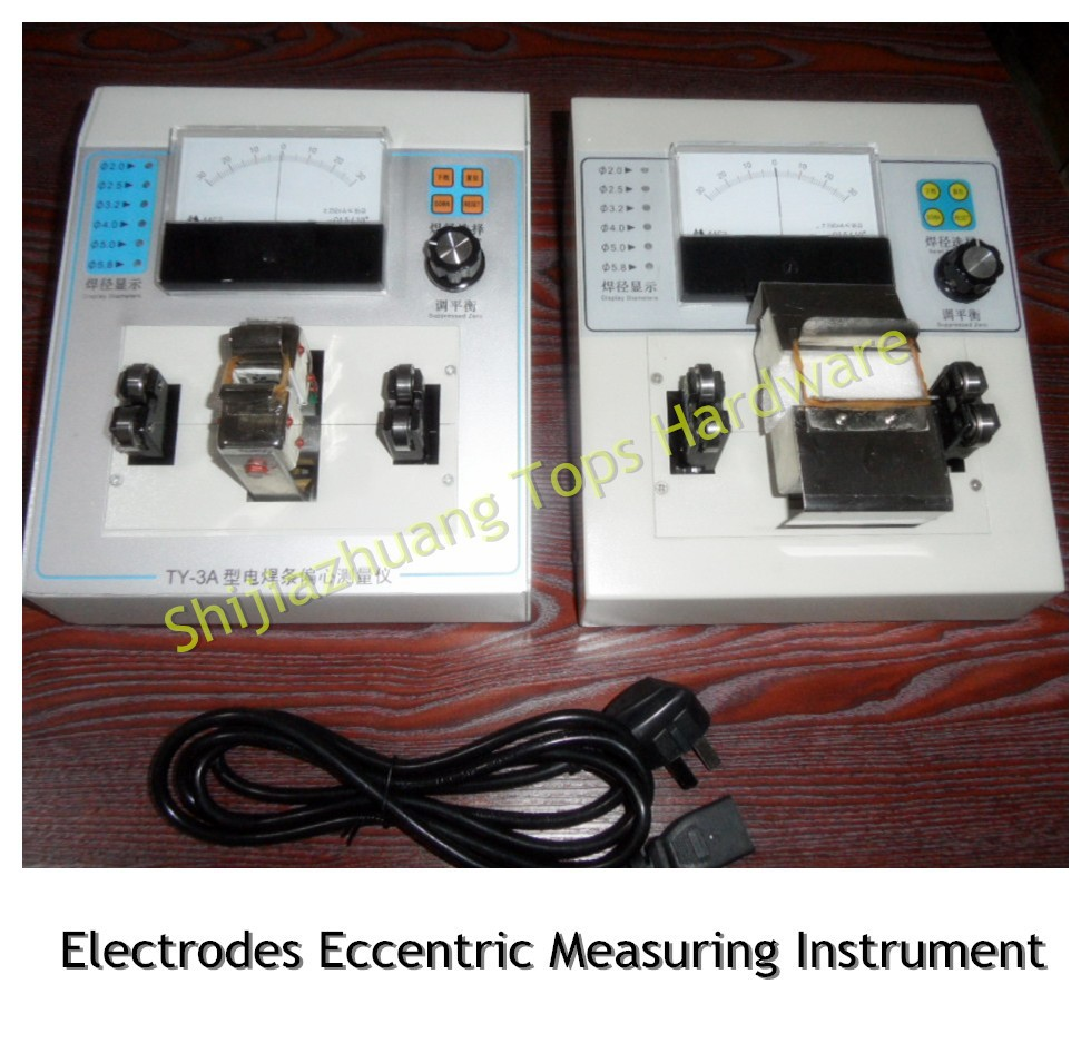 Magnetism/Non-magnetism welding electrodes eccentric <strong>tester</strong> for laboratory