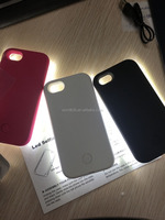 Multifunction double flashing light led mobile phone case for iphone