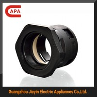 Economic plastic straight connector,Male straight connector for flexible conduit