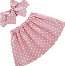 Boutique Children Clothing Hot Girls Short Skirt Polka Dots Dress Young Girl Skirt Children Skirt