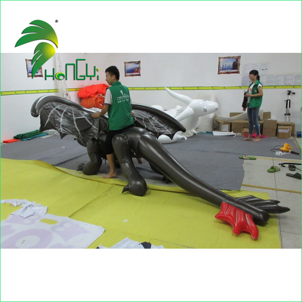Durable Inflatable Toothless Dragon Cartoon Suit , Inflatable Toothless Costume For Sale