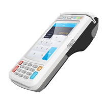 Handheld Android POS Terminal fingerprint POS with Thermal Printer & NFC Reader