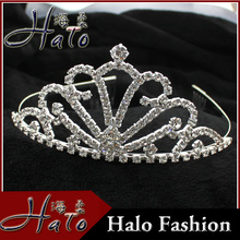 Hot Sale Fashion Wedding Accessory Rhinestone Tiaras H172-018