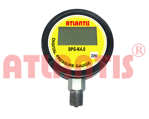 "Digital manometer 4"" DIGITAL LCD PRESSURE GAUGE"