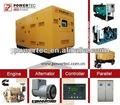 Hot sale!!! water cooled silent type diesel generator set with mahindra