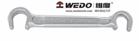 WEDO tools, Stainless Steel C Type Valve Wrench, with all sizes, GS/FM/UKAS certificate, ATEX approved