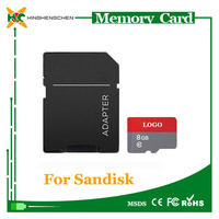 Best selling micro memory sd card for sandisk memory card 2gb 4gb 8gb 16gb 32gb 64gb 128gb sd memory card wholesale