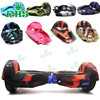 RHS 6.5 inch 2 wheels smart scooter hoverboard with bluetooth silicone protective case sleeve healthy cover multi color