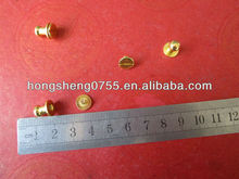 Hot Selling Cheap Price Metal Garment Studs,Brass Garment Nipple Nail,Metal Screw Studs