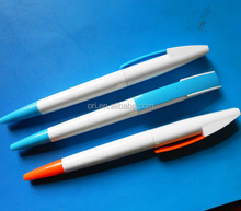 Hottest advertisement Plastic logo Ball Pens wholesale stationery